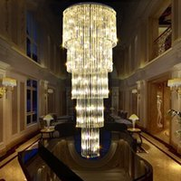 Crystal Chandeliers Lighting Fixture LED Modern Chandelier H...