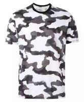 Erkekler Kamuflaj T-shirt Camo Erkek Ordu Askeri T Gömlek Casual Üst Tees Erkekler Tişörtleri Erkek Giyim Serin