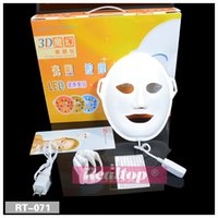 New LED Facial Mask Face Skin Care Led Light Therapy Led Pho...