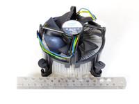 Nueva original de núcleo de cobre del radiador placa principal de control de temperatura del ventilador del servidor X58 de Intel i7 LGA 1366 CPU