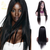 Brazilian Virgin 100% Wig Full Lace Wig And Higher Black Wom...