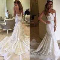 Gorgeous Berta Mermaid Wedding Dresses 2017 Sexy Backless Br...