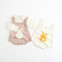 الجملة الأرنب الطفل الرضيع السروال القصير ربيع الخريف محبوك ملابس الأرنب الطفل بذلة طفل رضيع الفتيات ملابس الأولاد EG006