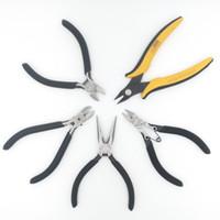 1 قطع تايوان jingliang ماركة 4 ، 4.5 ، 5 بوصة الأنف الطويل ، بالتمني مصغرة ، أدوات إصلاح كماشة قطري القاطع لقطع الصيد العقص