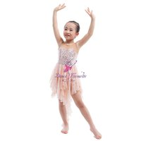 6e522517fb30 Compre Pink Party Girls Trajes De Baile De Jazz Festival De Baile ...