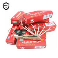 Tools à chaud Tools Haoshi Tools Sliver Pliot Pick Tool Verrouiller Tool Tools Padlock Jackknife Lock Pick Set Livraison Gratuite