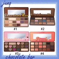 High quality hot - selling cosmetics chocolate bar eye color...