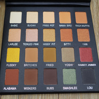 Dropshipping NEW violet Voss Pro Drenched Metal Eye Shadow P...