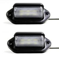 سيارة الصمام لوحة ترخيص علامة ضوء 12V أضواء ماركر الجانبية أو الراحة مصباح باب الخطوة مجاملة