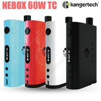 Original Kanger NEBOX Starter Kit 60W TC vw Temperature Control Mod 10ml SSOCC mini RBA Tank Kangertech subox plus Vapor vaporisateur Mods DHL