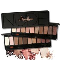 MARIA AYORA Ten Colors Eye Shadow Makeup Shimmer Matte Eyesh...