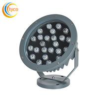 Proiettori a LED da 12W ad alta potenza Proiettore per esterni Faretti per esterni Proiettori a LED Luci da giardino Luci di inondazione 12W 18W Bianco / Bianco caldo