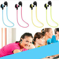 H7 Wireless Bluetooth V4.0 Headphone Sport e riduzione del rumore Stereo per iPhone samsung HuaWei bordo cuffia auricolare di alta qualità VS QY7