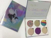 في المخزون! ماكياج الحب لوكس الجمال لوحة الخيال أنت جميلة بشكل لا يصدق 6 لون bronzers فسفورية لوحة dhl مجانا + هدية