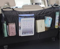 Durable Car Organizer Back Rear Trunk Seat Elastic String Ho...