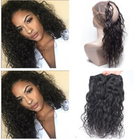 9A Malasyian Hair Wet and Wavy With 360 Full Lace Frontals W...