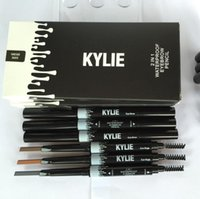 Kylie Eye Brow Pencil Waterproof eyebrow Pencil Double ended...