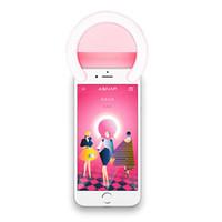العلامة التجارية الجديدة الساخنة بيع ASNAP الذكية الدائري صورة شخصية ضوء البسيطة العالمي صورة شخصية الصمام الخفيفة لالروبوت iOS المحمول