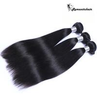 9A capelli lisci brasiliani non trasformati peruviano cambogiano indiano rettilineo capelli lisci capelli umani migliori trame estensioni dei capelli umani