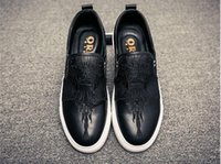 2018 New Men' s Top Brand Designer shoes Male tudded Spi...