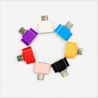 Android Micro USB To USB OTG Adapter Male to USB 2. 0 OTG Hug...