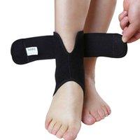 Atacado- AOLIKES ajustável Pé Ankle Brace Suporte elástico Tendinite compressão Wrap luva Enrole 456