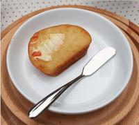الفولاذ المقاوم للصدأ إناء أدوات المائدة زبدة سكين الجبن الحلوى المربى الموزعة الإفطار أداة المنزل المطبخ أدوات المائدة السكاكين