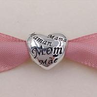 الأمهات يوم هدية 925 فضة الخرز الأمهات من العالم سحر يناسب الأوروبي باندورا نمط مجوهرات أساور قلادة 791112
