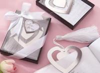 Party Bruiloft Gunsten Metalen Tassel Bookmark Book Mark Opmerking Memo Label Lint Box Geschenken Verjaardag Terug naar school Gift 25 stijlen Feestelijke aanbod