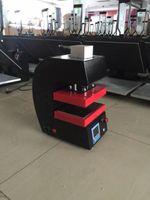 2017 أحدث نوع الصنوبري آلة الصحافة PURE ELECTRIC السيارات لوحات الحرارة المزدوجة الحرارة الصنوبري الصحافة آلة لوحة LCD، لا حاجة ضاغط الهواء