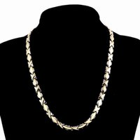 316L Stainless Steel Necklaces Women Men Link Chain Necklace...