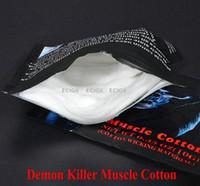 Мышцы хлопок демон убийца влагу материал органического хлопкового волокна подходят РБА рта РДА РДА атомайзер ПК волокна уроды слоеного