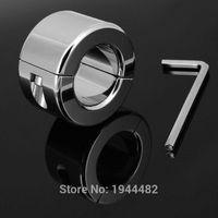 Мошонка кольцо из нержавеющей стали металлический шар веса энхансер ТОС замок петух кольцо мяч носилки идеальный мошонки кулон 600 г