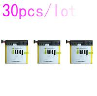 30pcs / lot 3950mAh C11P1303 batterie pour ASUS Google Nexus 7 II 2 2e ME571 ME571K ME571KL K008 K009 Batteries