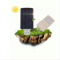 48LEDs 에너지 절약 운동 감지기 10W 태양 LED 거리 램프 옥외 정원 도로 벽 램프 홍수 빛