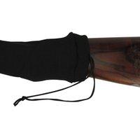 Tourbon الصيد بندقية الملحقات سيليكون علاج بندقية متماسكة بندقية الأسلحة النارية الجوارب البنادق غطاء بندقية بندقية حامي الأسود لاطلاق النار
