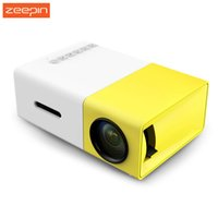 Wholesale- New YG300 Mini Portable LCD Projector 400- 600 Lume...