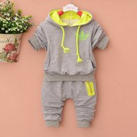Fashion brand Spring Summer style baby clothing sets Cotton ...