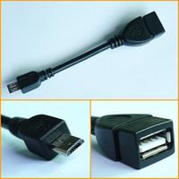 마이크로 5PIN USB 남성 USB 2.0 여성 OTG 어댑터 케이블 전화 태블릿에 대 한 안 드 로이드 스마트 폰 HuaWei XiaomI 데이터 동기화 충전 MQ1000