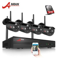 ANRAN 4CH 1080P HDMI Wifi NVR Security Camera System Array I...