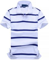 Good Quality New POLO Shirt Men Cotton Fashion Color striped...