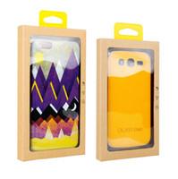 100 adet Evrensel Cep telefonu Kılıfı Paketi PVC şeffaf plastik Perakende Ambalaj Kutusu iphone5 / 6 / Samsung Cep telefonu