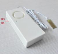 Nuovo arrivo Wireless Water Overflow Allarme di dispersione Rilevatore di sensori 130dB Allarme vocale Allarme di livello dell'acqua da solo Sistema di sicurezza domestica