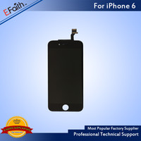 Wholesale- For Grade A+ + + iPhone 6 Black LCD Display With Touc...
