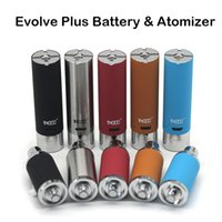Las Baterías Yocan Evolve Plus Genuine Evolve Plus Cigarrillos Hot E atomizador de cera Los 5 colores disponibles con caja al por menor