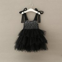 Girls Flower Lace Dresses Baby Girls Princess tutu Party Dre...