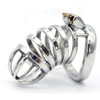 Нержавеющая сталь петух Кейдж мужской целомудрие устройство cb6000 целомудрие Кейдж пенис кольцо пояса секс-игрушки продукты секса 276