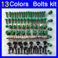 Fairing bolts full screw kit For YAMAHA TZR-250 TZR 250 92 93 94 95 96 97 TZR250 1992 1993 1994 1997 Body Nuts screws nut bolt kit 13Colors