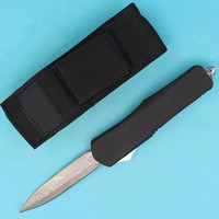 Allvin Tillverkare EDC Tactical Knife Gear Damascus Steel 59-60HRC Dubbel Acion Fine Blade Survival Knives Fickknivar