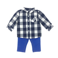Baby Clothes Boys 2 Pieces Sets Spring Autumn Long Sleeve Ch...